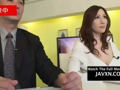 asian newscaster gets molested and fucked on live tv