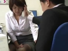 pretty asian office woman blackmailed into sex - pt2 on hdmilfcam.com