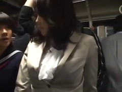 sensitive milf was groped to orgasm on the bus - pt2 on hdmilfcam.com