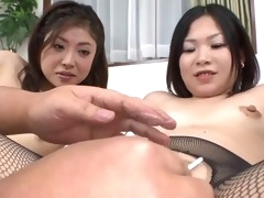 pussy shaving and countless creampies for two sweet japanese hoes