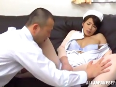great sex with the asian nurse hisae yabe