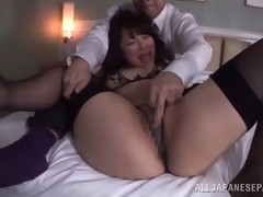 rough sex with a busty asian babe