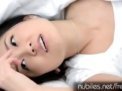 Japanese honey masturbates and moans like crazy