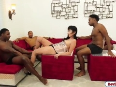 asian babe marica hase banged by four big black dicks