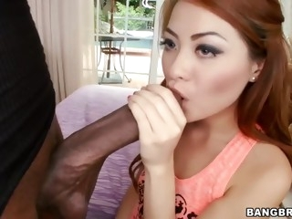 black guy with giant dick fucks miniature asian doll kim blossom