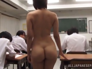 sexy asian teacher with small tits getting slammed hardcore