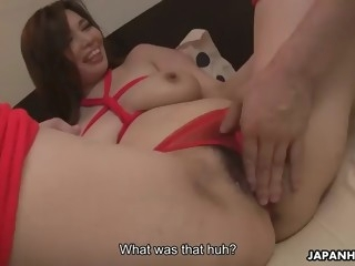 juicy hairy pussy of jap bombshell yuko iijima gets dicked by admirer
